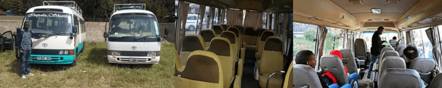 Moshi luxury shuttles