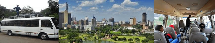 Destinations Nairobi Namanga Arusha moshi