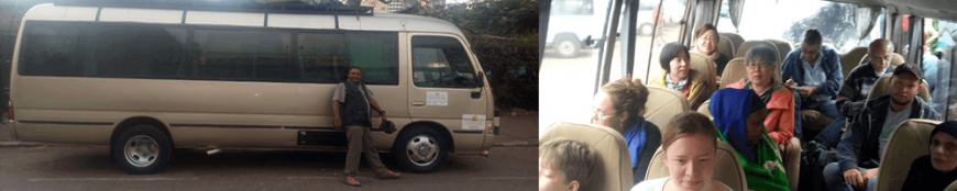 Marangu shuttles Bus