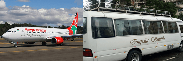 Jomo Kenyatta international airport shuttle 